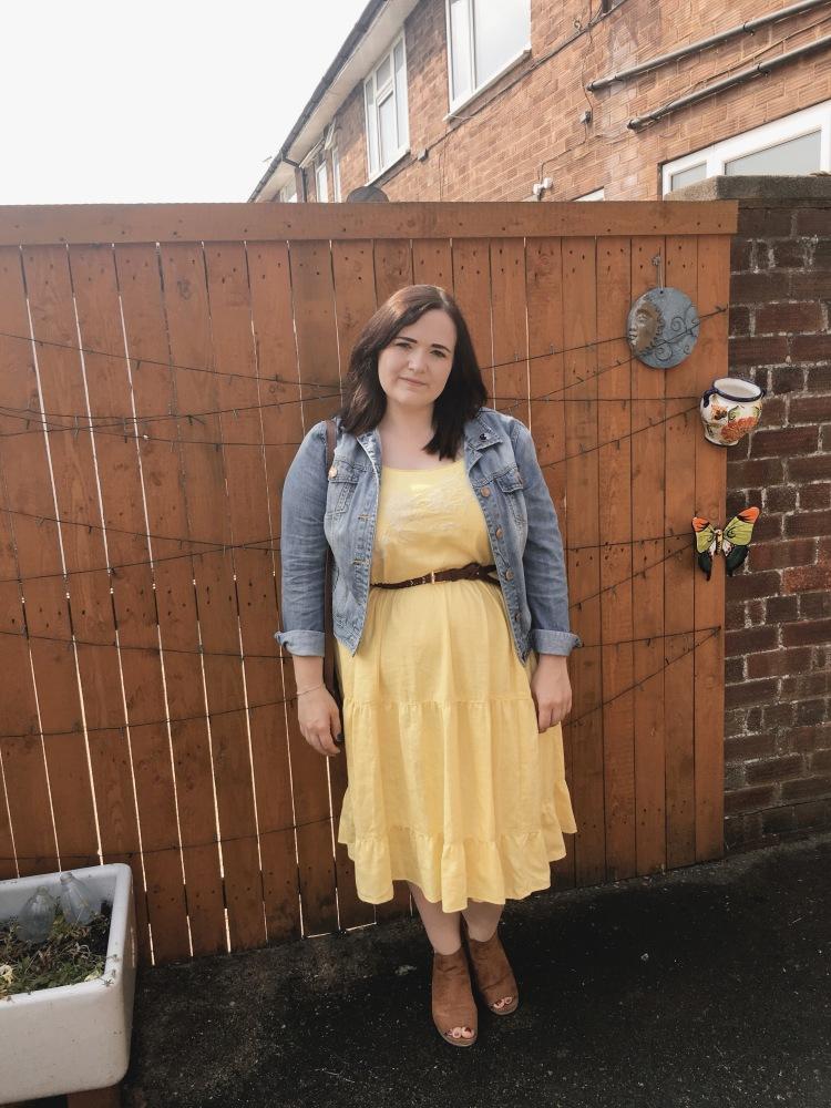 Next Yellow Summer Dress