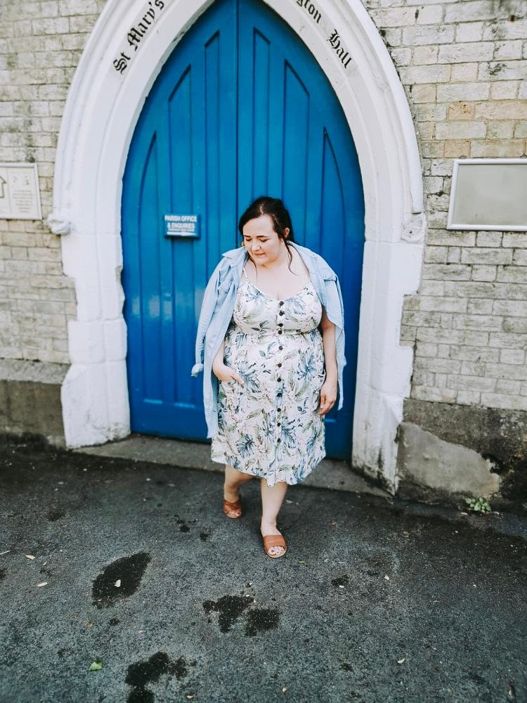 Lizzie Florence Plus Size Tropical Ebay Dress