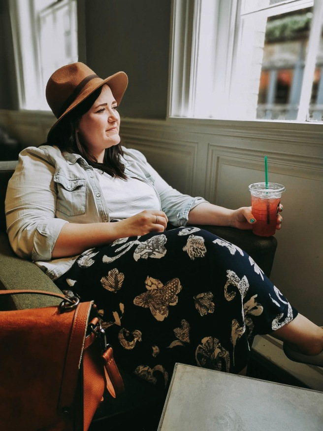 Lizzie Florence Charity Shop Midi Plus Size Outfit York