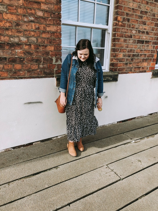Lizzie Florence Plus Size Boohoo Midi Dress