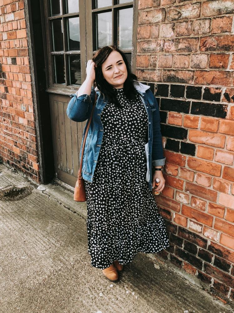 Lizzie Florence Plus Size Boohoo Midi Dress