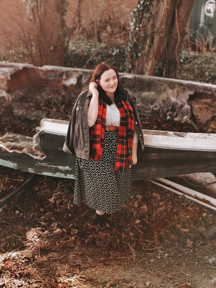 Lizzie Florence Midi Skirt New Year